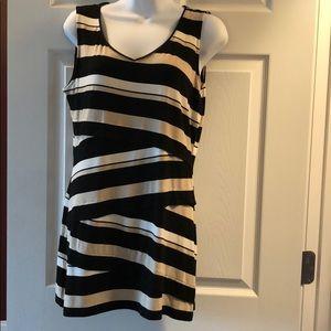 White House Black Market sleeveless long blouse